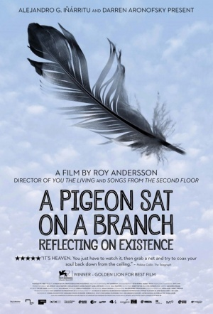 A Pigeon Sat on a Branch Reflecting on Existence Film Poster