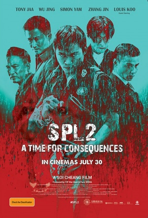 SPL 2: A Time for Consequences Film Poster