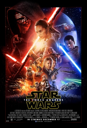 Star Wars 3D: Episode VII - The Force Awakens Film Poster