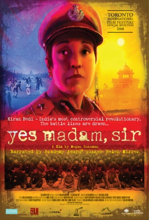 Yes Madam, Sir Poster