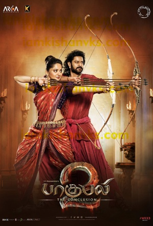 Baahubali 2: The Conclusion (Tamil) Film Poster