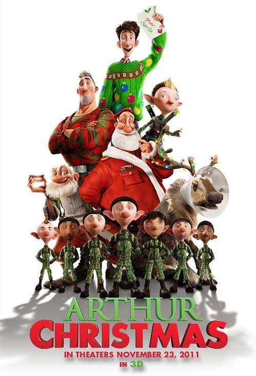 Christmas movie posters