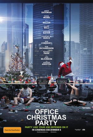 Office Christmas Party Film Poster