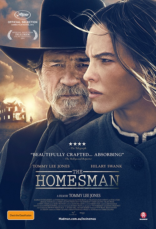 The Homesman Film Poster