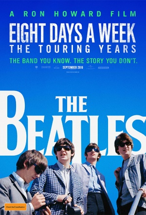 The Beatles: Eight Days a Week - The Touring Years Film Poster