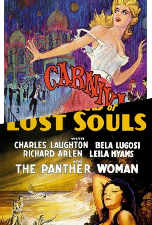 Double Feature: Island of Lost Souls / Carnival of Souls Poster