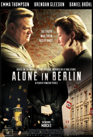 Alone in Berlin Film Poster