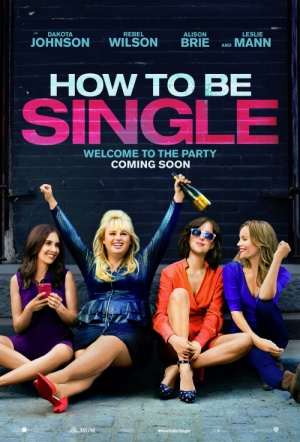 How to Be Single Film Poster