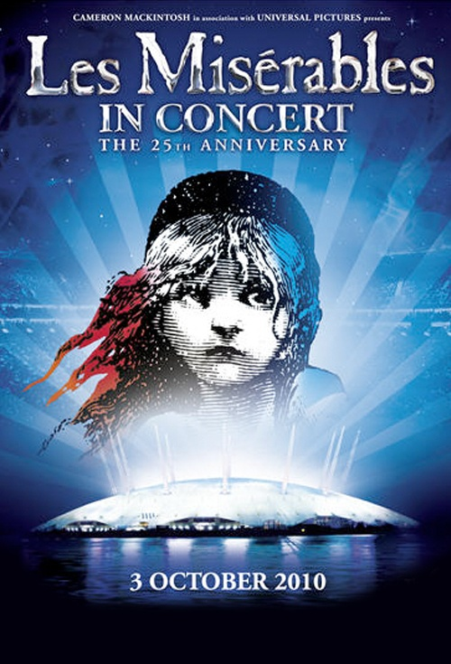 Les Misérables in Concert Film Poster