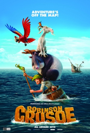 Robinson Crusoe: The Wild Life Film Poster