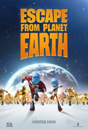 Escape from Planet Earth Film Poster