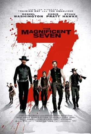 The Magnificent Seven (2016) Film Poster