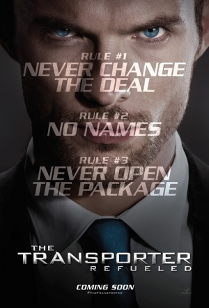The Transporter Refueled Film Poster