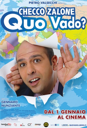 Where Am I Going? (Quo Vado?) Film Poster