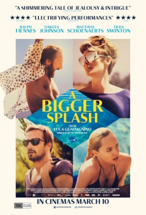 A Bigger Splash Film Poster