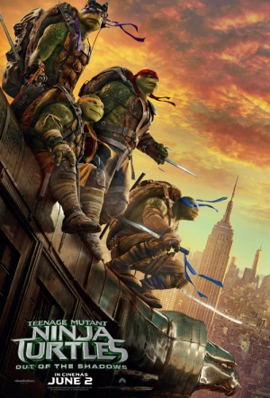 Teenage Mutant Ninja Turtles 2 Film Poster