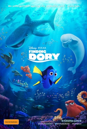 Finding Dory 3D Film Poster