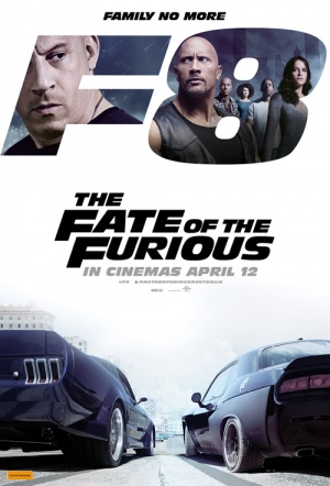 The Fate of the Furious 3D Film Poster
