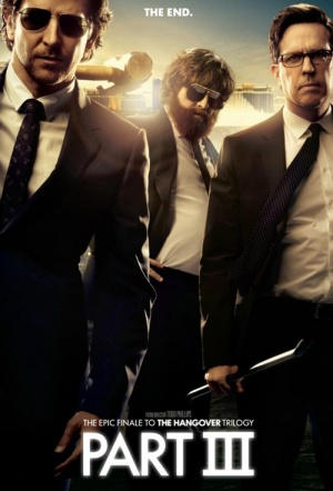 The Hangover Part III Film Poster