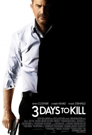 3 Days to Kill Film Poster