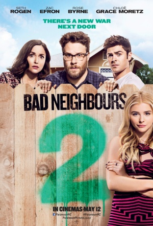 Bad Neighbours 2 Film Poster