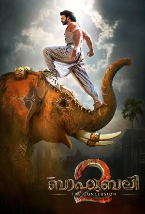Baahubali 2: The Conclusion (Malayalam) Film Poster