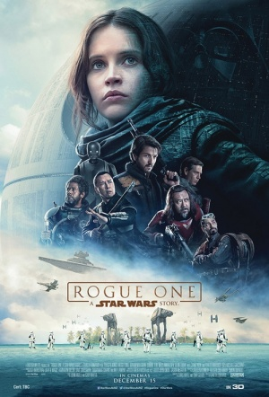 Rogue One 3D: A Star Wars Story Film Poster