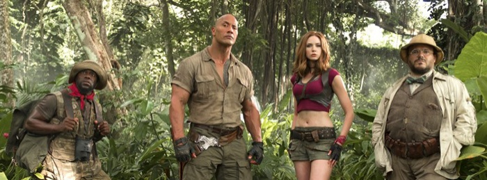 Jumanji 3D: Welcome to the Jungle