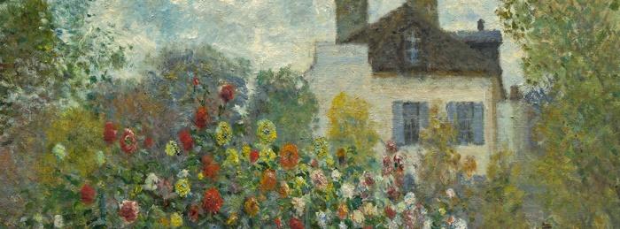 Exhibition on screen painting the modern garden monet to for Da matisse a monet