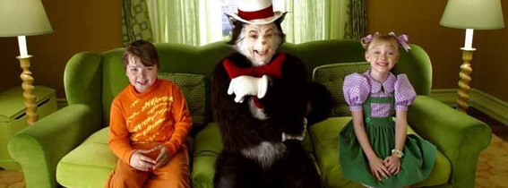 the cat in the hat movie reviews trailers flicks