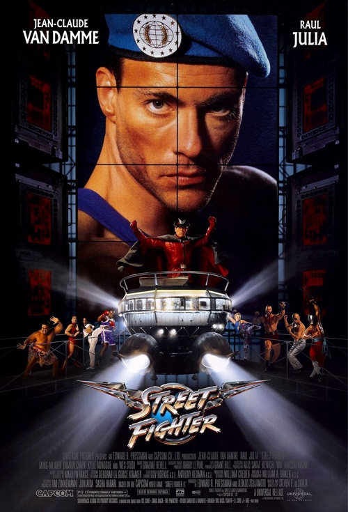 Street Fighter Film Poster