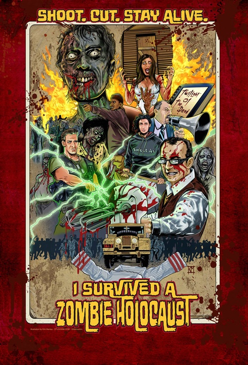 I Survived a Zombie Holocaust Film Poster