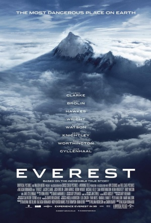 Everest 3D Film Poster