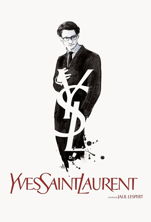 Yves Saint Laurent Film Poster