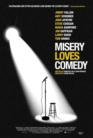 Misery Loves Comedy Film Poster