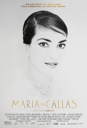 Maria by Callas Film Poster