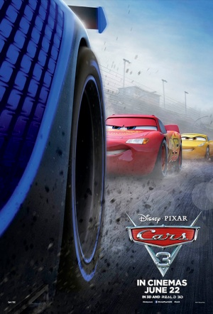 Cars 3 3D Film Poster