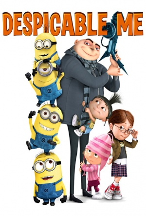 Despicable Me 3D Film Poster