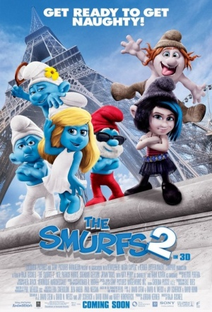 The Smurfs 2 3D Film Poster