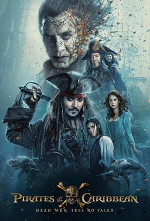 Pirates of the Caribbean 3D: Dead Men Tell No Tales Film Poster