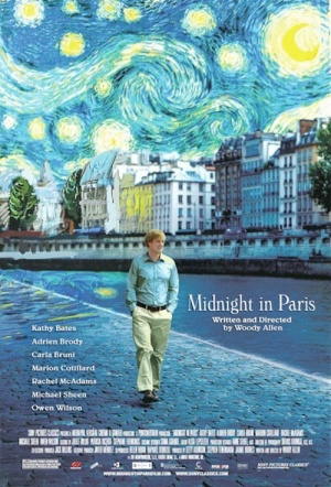 Midnight in Paris Film Poster
