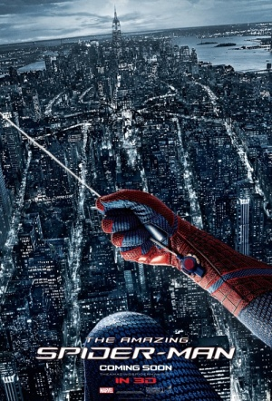The Amazing Spider-Man 3D Film Poster