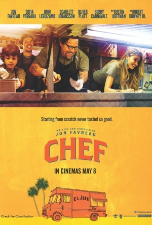Chef (2014) Film Poster