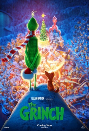 The Grinch 3D Film Poster