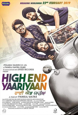 High End Yaariyaan Film Poster