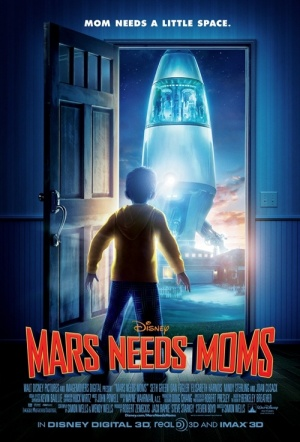 Mars Needs Moms! 3D Film Poster