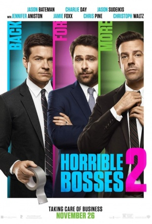 Horrible Bosses 2 Film Poster