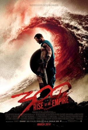 300: Rise of an Empire 3D Film Poster