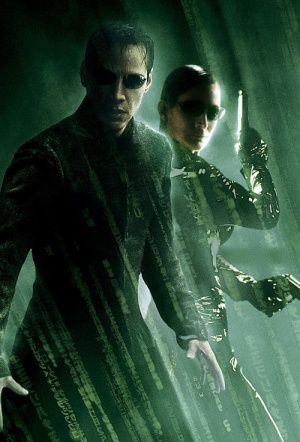 Triple Feature: The Matrix Film Poster