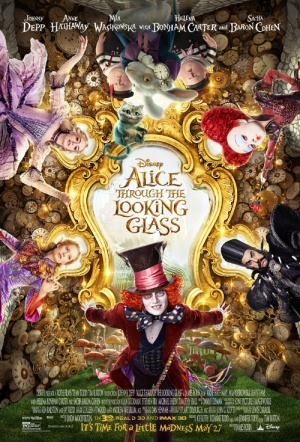 Alice Through the Looking Glass 3D Film Poster